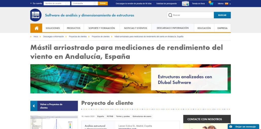 Mastil-arriostrado-para-mediciones_dlubal.com