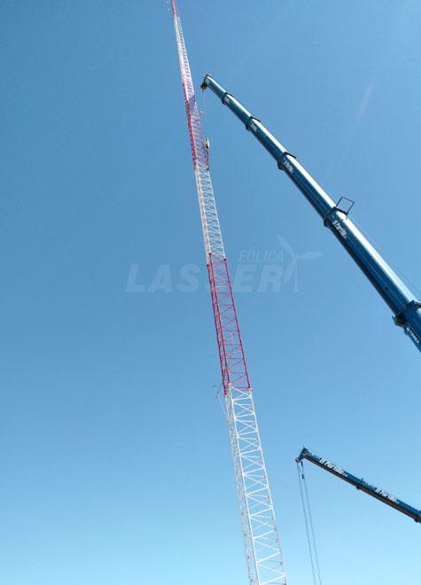 lasser-eolica-mast-mounting