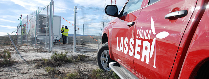 lasser-eolica-carlos-vicente-claveria-director-comercial-lasser-coche-instalacion-lasser-power-track